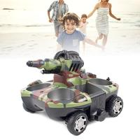 2019 New Amphibious Remote Control Tank Ship Water Spray Jet RC Tank Amphibious Chariot Gift For Boys Birthday