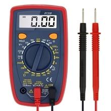 DT33D мультиметр AC DC напряжение ЖК-цифровой мультиметр Измеритель сопротивления диод тестер