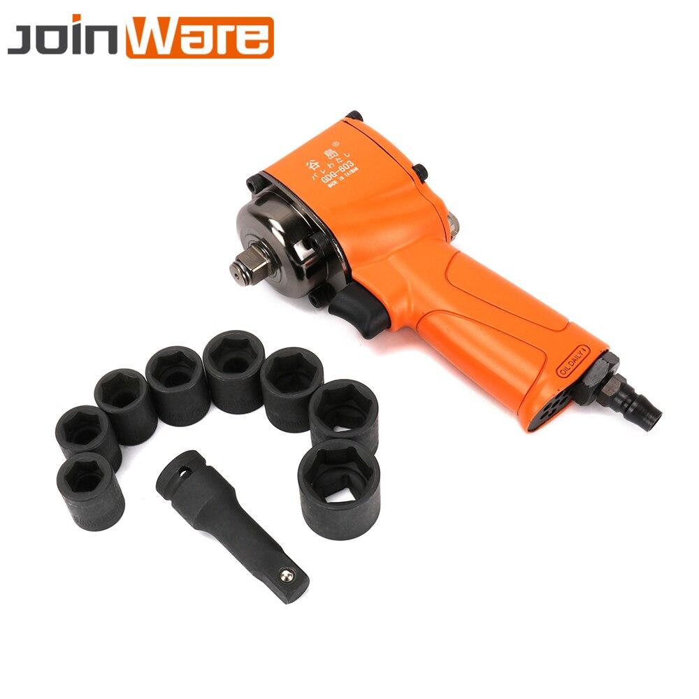 1/2 Air Impact торцовые ключи работы установка 8000 об./мин. пневматический инструмент для ремонта автомобиля Комплект