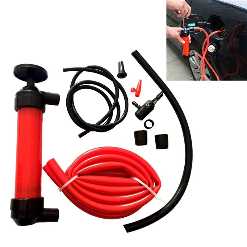 Sucker Oil-Extractor Change-Pump Fuel-Pipe Water-Brake-Fluid Manual Motorcycle for Automobiles-Suction-Pipe