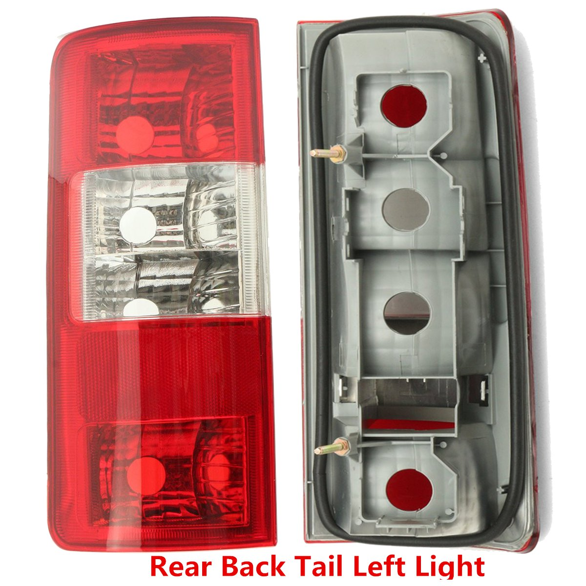 Car Left /Right Side Rear Backup Tail Lamp Light Lens Driver  For Ford Transit Connect 2002-2009 1369233 1369221