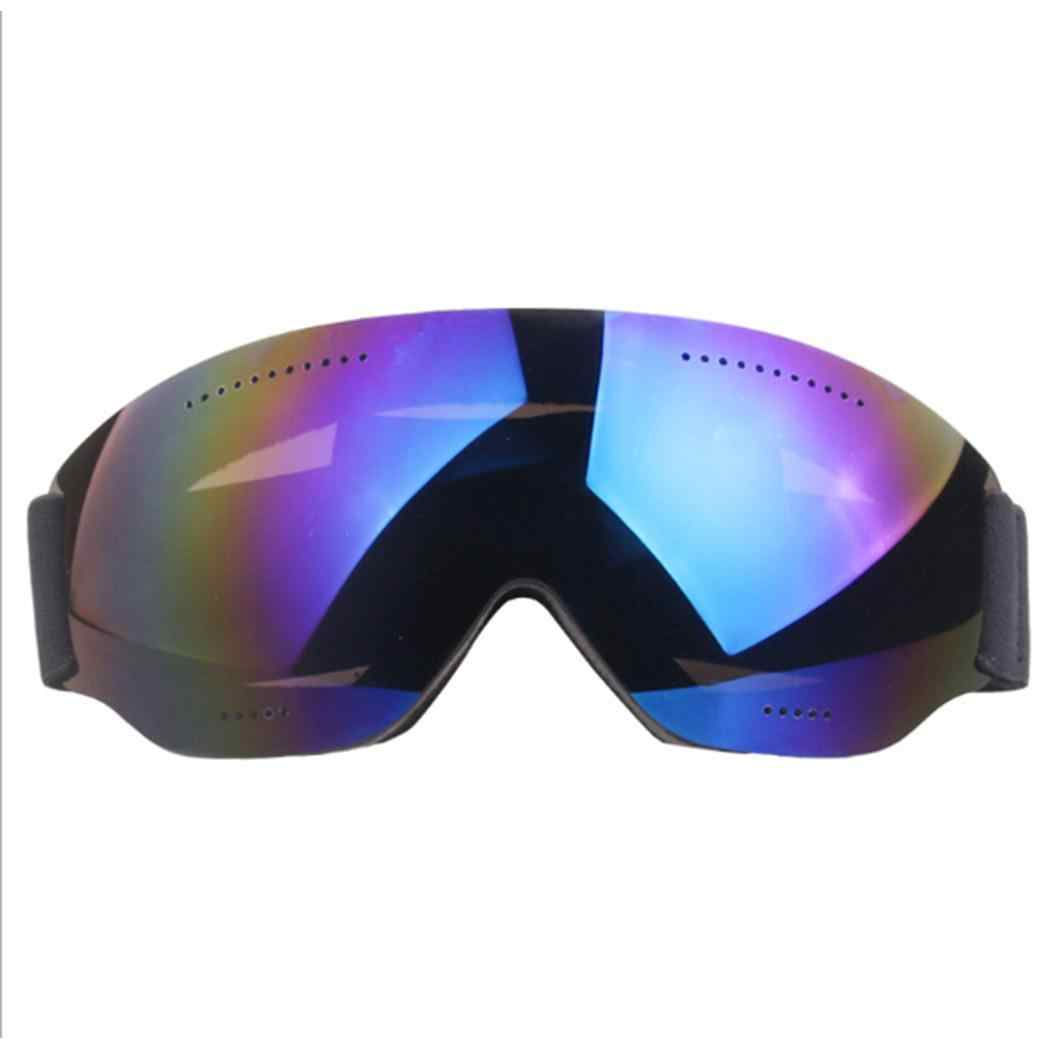 460acf68e58 Unisex Winter Windshield Snowboard Goggles Ski Glasses Mountain UV  Protective Spectacles Outdoor Activities