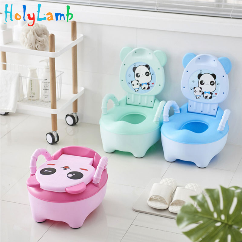 Cute Animal Baby Pot For Newborns Kids Potty Training Children's Potty Seat Urinal For Nursery Pad On The Children's Toilet
