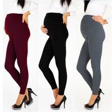 Теплые брюки для беременных женщин; брюки для беременных; Одежда для беременных; сезон весна-лето; коллекция года; брюки с высокой талией для беременных