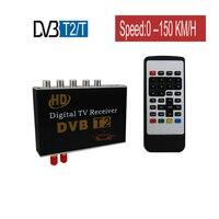 Car DVB T2 DVB T TV Receiver Dual Tuner For Car DVD High Speed Mpeg4 Car Digital TV Box Auto Mobile Terrestrial Receiver DVB Box
