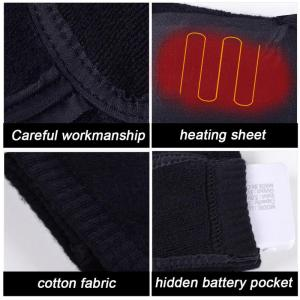 Image 4 - Usb Rechargeable Battery Sport Ski Heated Socks Women Men Cotton Outdoor Hiking Heating Thermal Leg Warmers