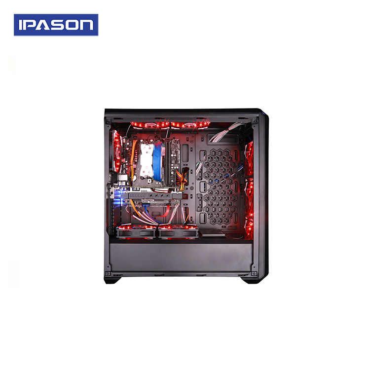 Ipason P5 Komputer Desktop 9th Intel I5 8400/9400f 6 Core Game Komputer PC 1050Ti 4G DDR4 8G Ram 720G SSD