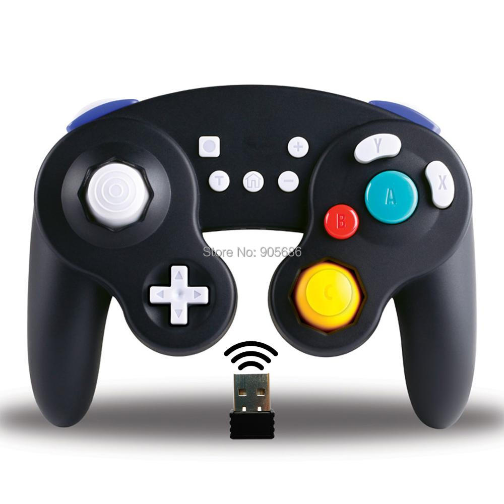 Details About 2 4g Wireless Nintendo Switch Gamecube Controller Compatible With Ps3 Pc