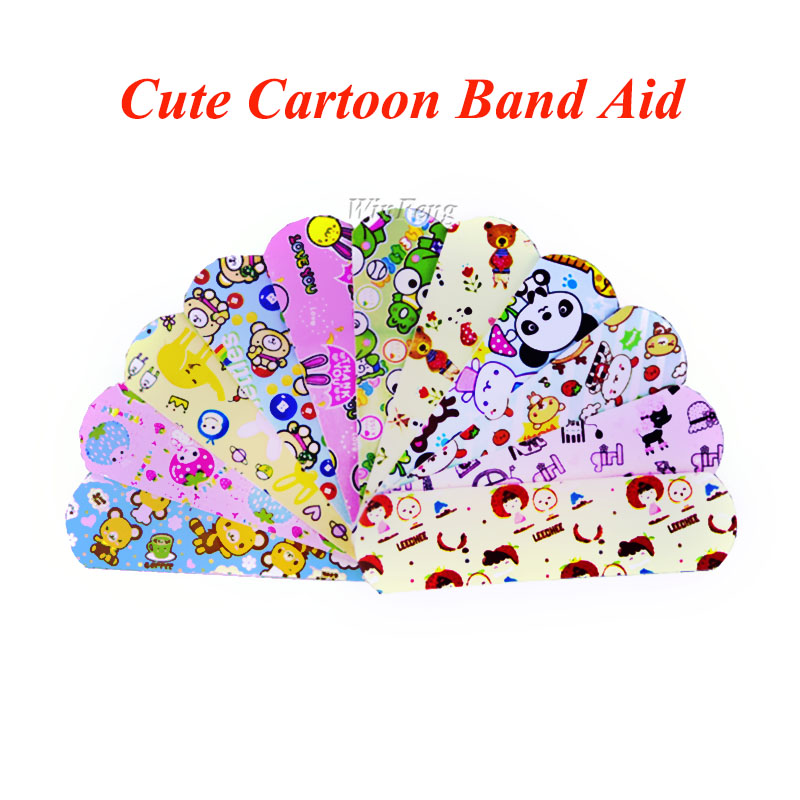 10pcs/lot Emergency Kits Band-aid Breathe Freely Waterproof Hemostasis Adhesive Bandages First Aid Kit For Emergency