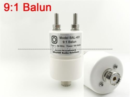 1:1 3-30Mhz Ratio 100W Balun for HF Amateur Radio Dipole Antennas Waterproof