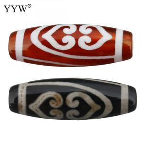 5pcs/Lot Natural Tibetan Agat Dzi Beads Wishful God Of Wealth Luck Jewelry Earn More Money Approx 2.5mm Sold By Lot(China)