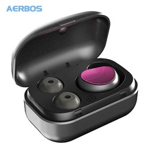 AERBOS True Wireless Earbuds Handsfree Bluetooth Earphone Noise Canceling Sport Earphones Headsets Ecouteur Fone De Ouvido wireless true waterproof sport headset phone handsfree earphone touch tws bluetooth earbuds noise canceling wirelles earphones