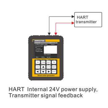 Multifunctional 4-20mA Calibration Current Voltage Thermocouple Pressure Transmitter Logger Frequency MR9270S HART