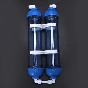 Image 2 - מכירה למעלה מים מסנן 2Pcs T33 מחסנית דיור Diy T33 פגז מסנן בקבוק 4Pcs אבזרי מים מטהר הפוך אוסמוזה