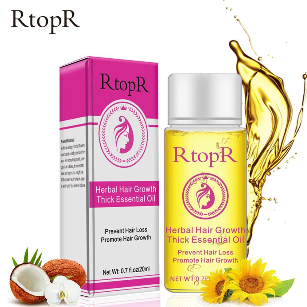 RtopR Fast Powerful Hair Growth Essence Products Essential Oil Liquid Treatment