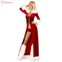 Daininus Sexy Lingerie Red Hot Babydoll Cosplay Christmas Uniform Role Playing Underwear Women Erotic Halloween Porn Costumes