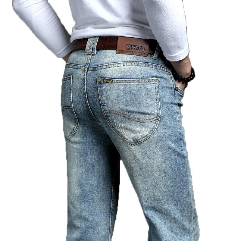 Cowboy Vintage Bule Men Jeans New Arrival 2019 Fas