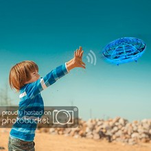 Kinderen Kids Volwassen Speelgoed Outdoor speelgoed Mini Drone Infrarood Inductie Hand Control UFO Hoogte Hold Training Drone RC Quadcopter(China)