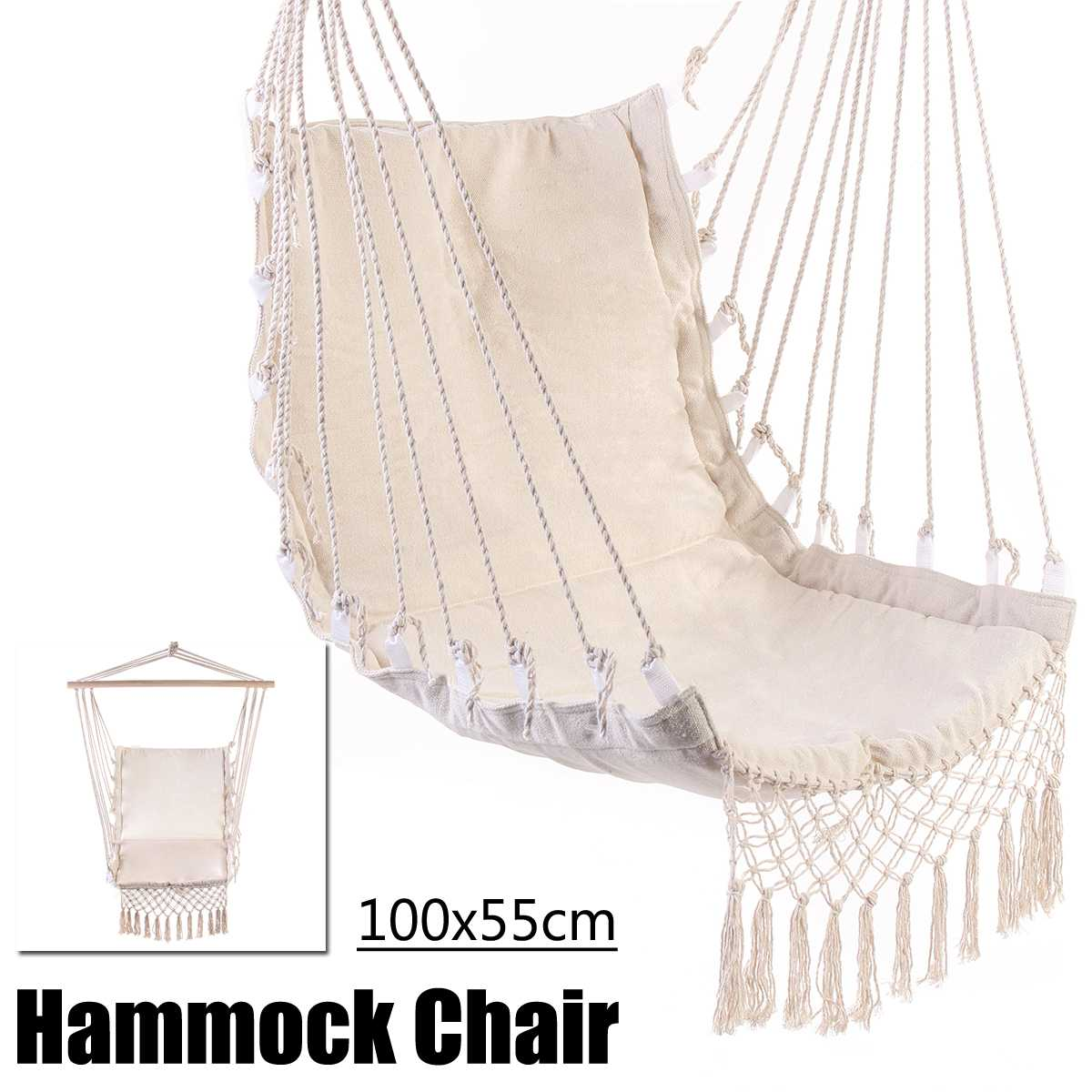 Nordic Style Hammock Outdoor Indoor Furniture Garden Bedroom Swing Hanging Chair for Children Adult