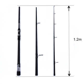 High Carbon lure fishing rod Super Power Telescopic Feeder Fish 3.6M carp fisihing rod Spinning Rod