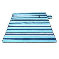 FSTE 200x200Cm Waterproof Folding Picnic Blanket Outdoor Beach Mat Beach Blanket Sand Proof Extra Large Portable Hiking