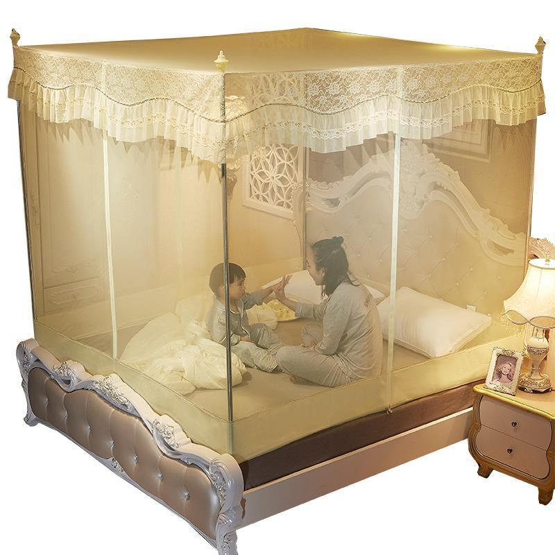 Tente douce Fang Siatka Moskitiera fille chambre décor Bebek Berco Lit rideau Ciel De Lit Klamboe auvent Cibinlik moustiquaire