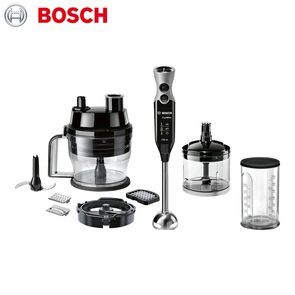 Blenders Bosch MSM671X0 Home Kitchen Appliances chopper immersion mixer stationary preparation of drinks and dishes
