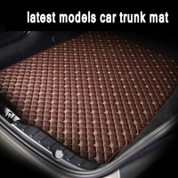 ZHAOYANHUA Custom fit Car Trunk mats for peugeot 5008 307 508 308 3008 301 2008 207 sw car styling carpet