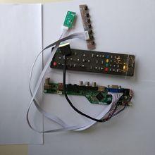 TV HDMI AV VGA USB AUDIO LCD LED Controller Board Card Kit DIY For N156B6-L0B 15.6″ 1366×768 Screen Monitor