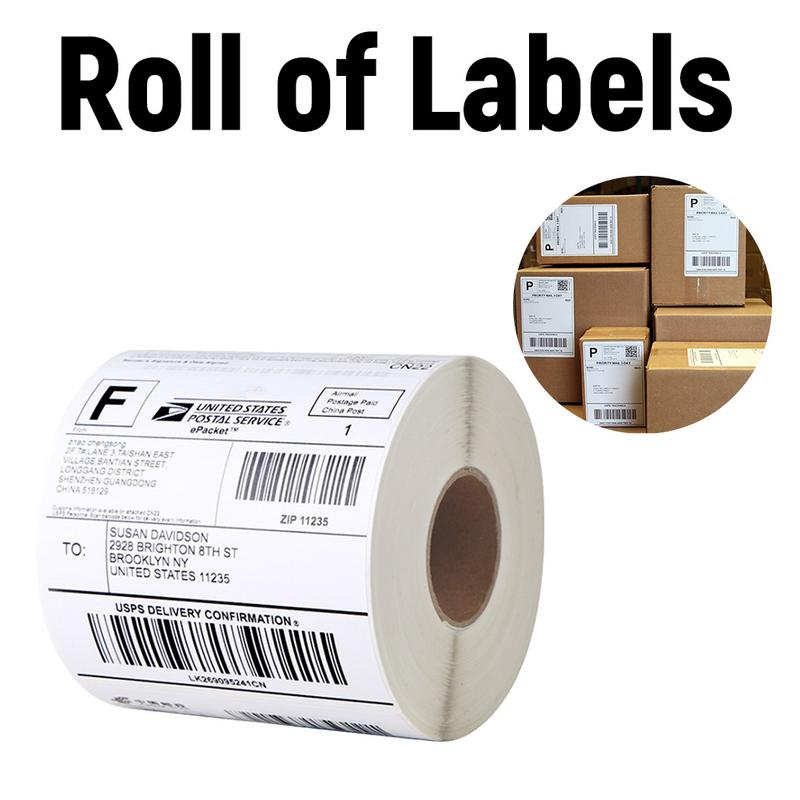 Postage Replacement Labels Thermal Labels Compatible Shipping Address Internet For Dymo Labelwriter 4XL Printer