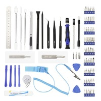 80 in 1 Mobile Phone Repair Kit Spudger Pry Opening Tool Screwdriver Set For iphone XR XS Max X For Samsung Galaxy S10 plus S10e