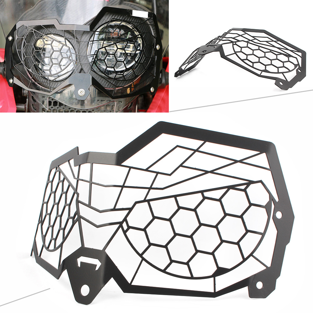 Motorcycle Front Headlight Grille Guard Protective Cover For Honda CRF250 Rally 2017 2018 Stainless steel Motorbike