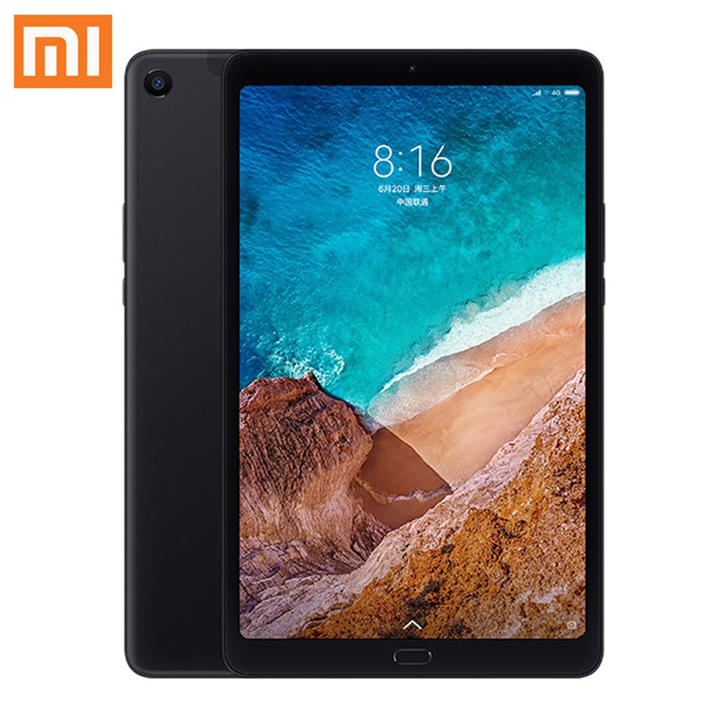 "XIAO mi mi Pad 4 Plus LTE 4G + 128G Globale ROM Original Box Snapdragon 660 mi UI 9,0 10,1 ""Tablet Schwarz Original Xiao mi Tablet 4 Plus"