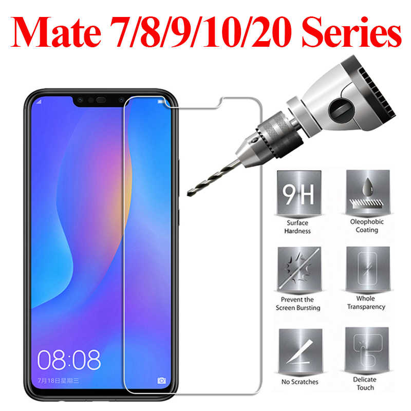 Tempered protective glass on for huawei mate 10 20 lite pro nova 2i 3i 2 i p smart plus 9 8 7 p20 P20 Lite screen protector