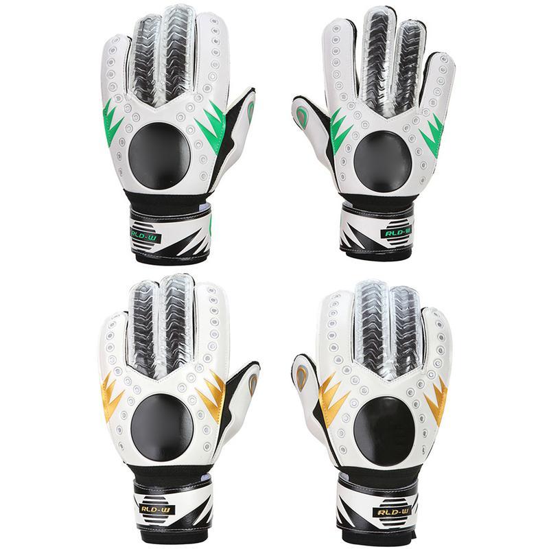 En plein air de Football gants de gardien de but de football Épaissie Latex Doigt Protection Sport Non-slip Hommes De Gardien De But Gants