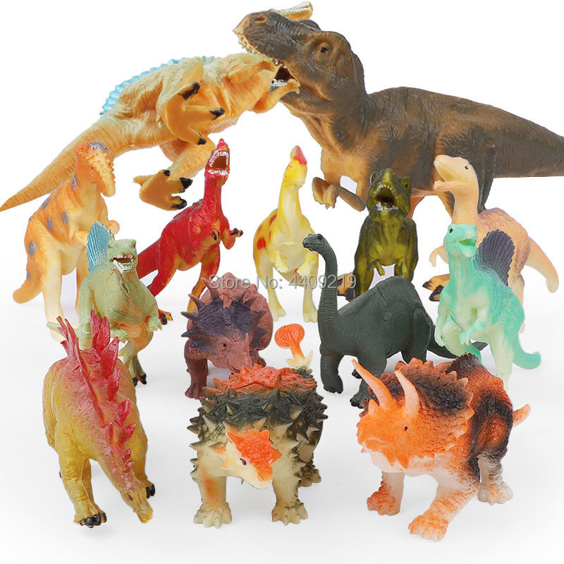 Image 4 - 21Styles Action&Toy Figures Model Brachiosaurus Plesiosaur Tyrannosaurus Dragon Dinosaur Collection Animal Collection Model Toys-in Action & Toy Figures from Toys & Hobbies