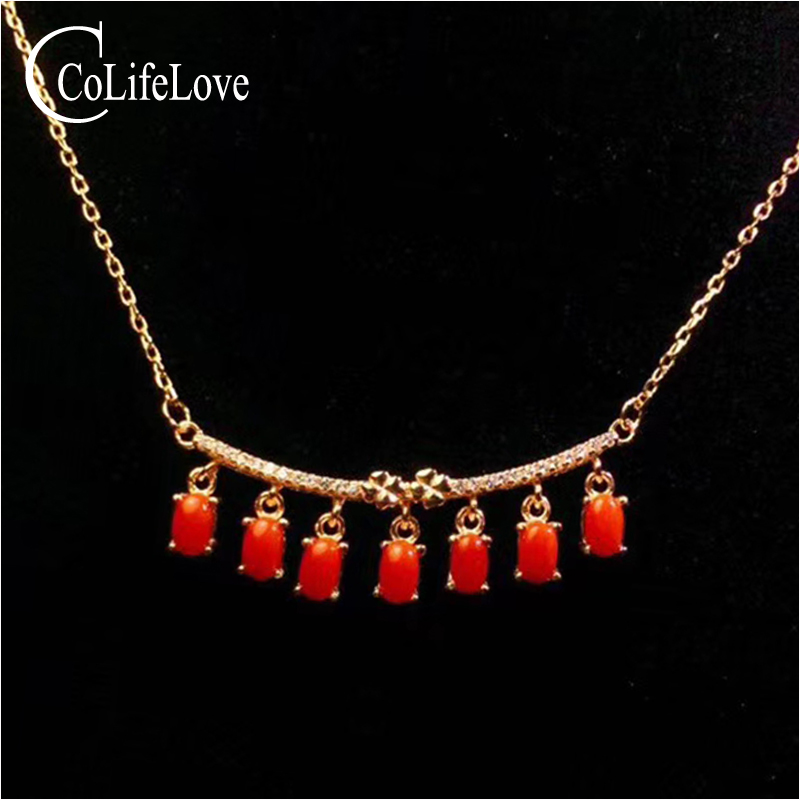 Fashion red coral necklace for wedding 7 pcs natural precious coral silver necklacer solid 925 silver coral wedding jewelryFashion red coral necklace for wedding 7 pcs natural precious coral silver necklacer solid 925 silver coral wedding jewelry