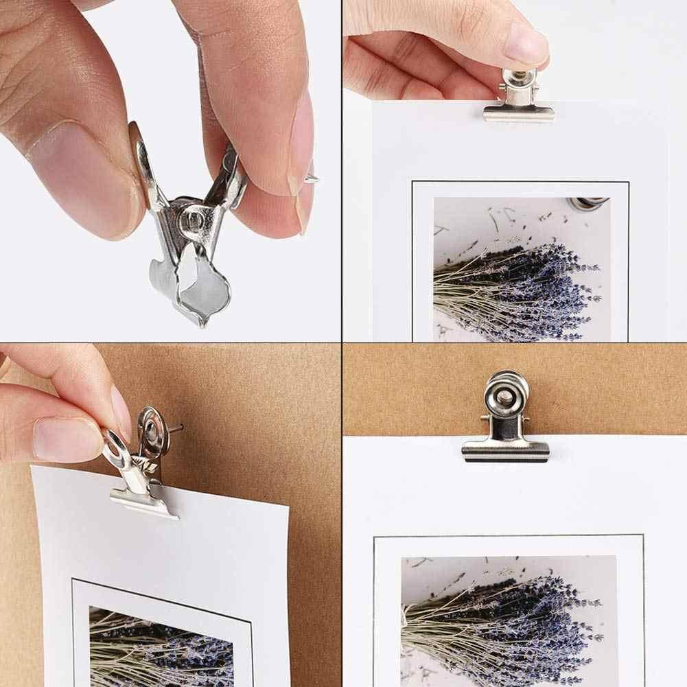 20 Buah Push Pins Klip Paku Payung Klip Jempol Klip Dinding Klip dengan Pin untuk Papan Gabus Cubicle Dinding dengan Menggunakan Seni proyek Foto
