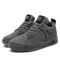 Мужская повседневная обувь 2019 г. Весенняя модная мужская обувь для взрослых, мужские кроссовки, черная классическая мужская обувь на шнуров...