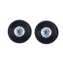 2 Sets of Luggage Suitcase Replacement Wheels Axles Deluxe Repair Tool 50*22*6.1 mm