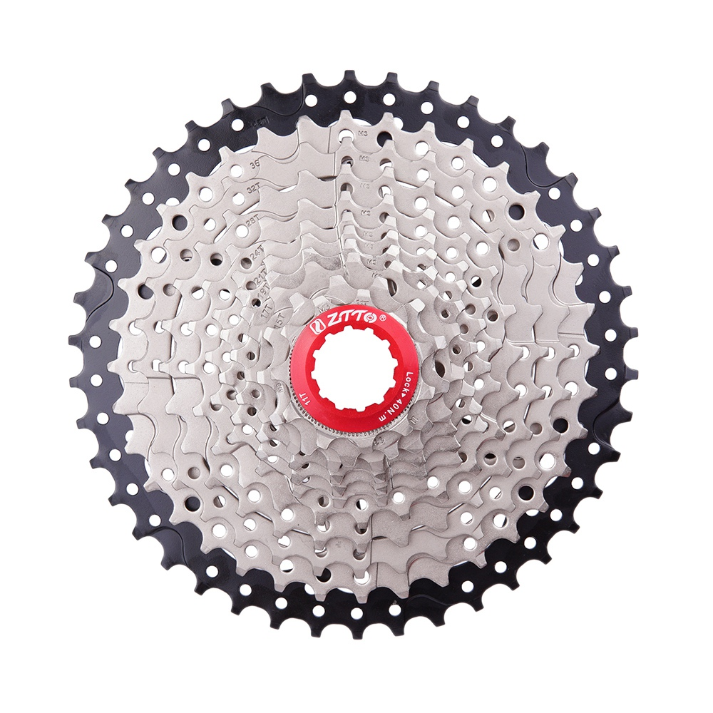 Bmdt-ztto roue libre de vélo 11 S 11-42 T Cassette vtt VTT 11 vitesses pignon de volant Compatible pour les pièces de vélo de vélo