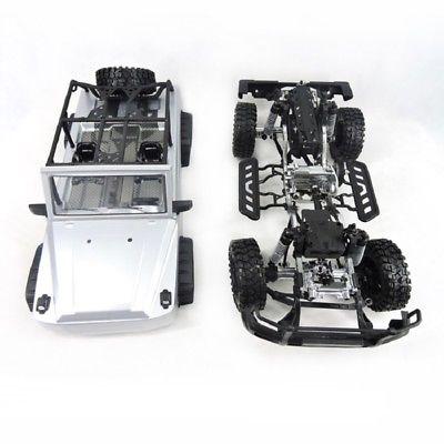HG 1/10 RC Drift Racing Modèle 2.4g Voiture Au Même Rythme Galop RTR Métal Châssis Rail 4WD