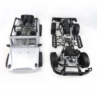 HG 1/10 RC Drift Racing Model 2.4G Car Apace Gallop RTR Metal Chassis Rail 4WD