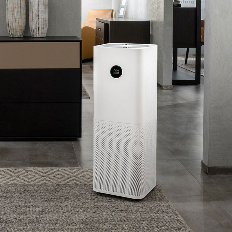 2018 Xiaomi Air Purifier Pro Intelligent OLED Display CADR 500m3/h 60m3 Wireless Smartphone APP Control Household Appliances new original xiaomi air purifier pro oled display screen laser particle sensor 500m3 h particulate matter cadr for 60m3