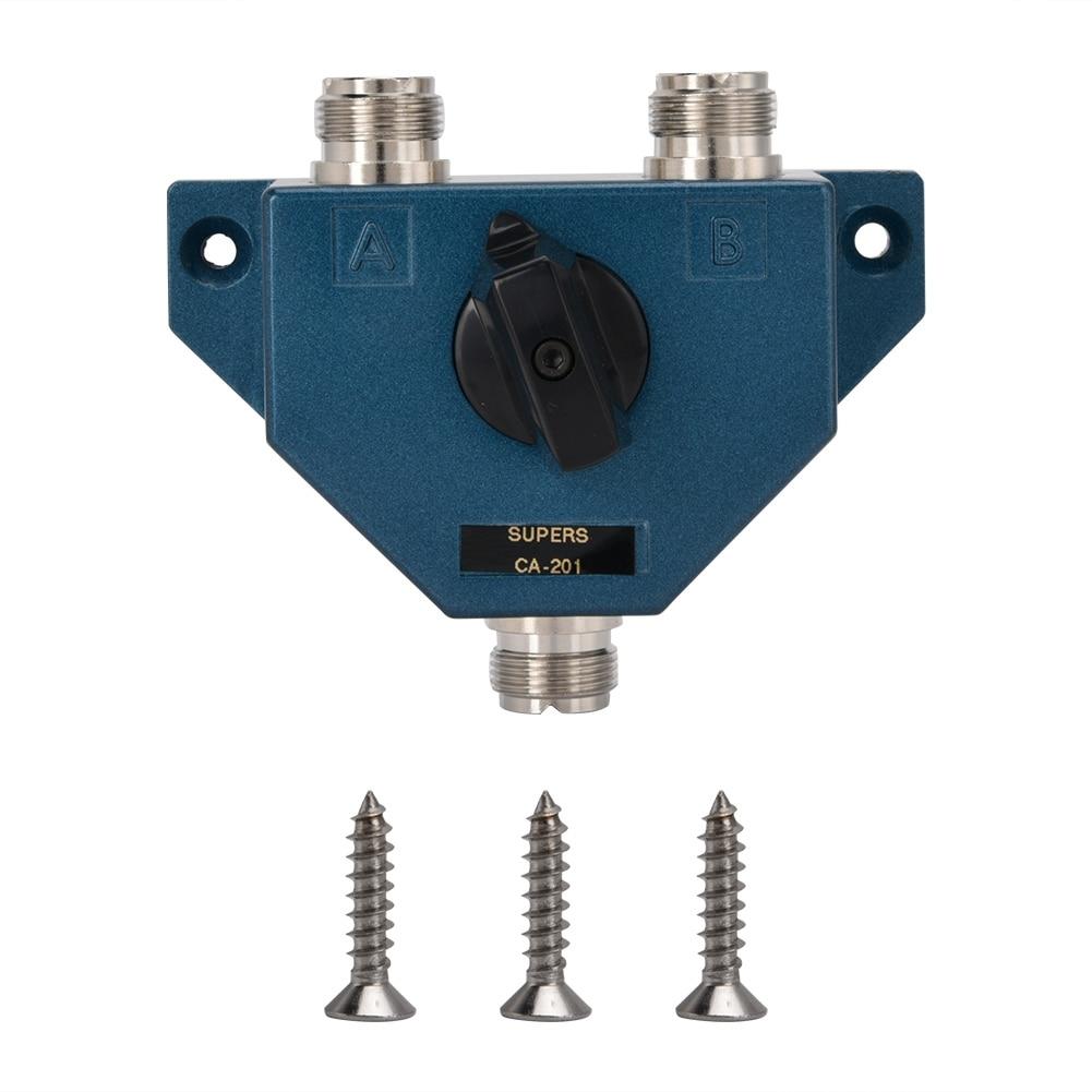 DC To 1 GHz MFJ-2702 2 Position Rhino Coaxial Switch 2 KW To 30 MHz SO-239