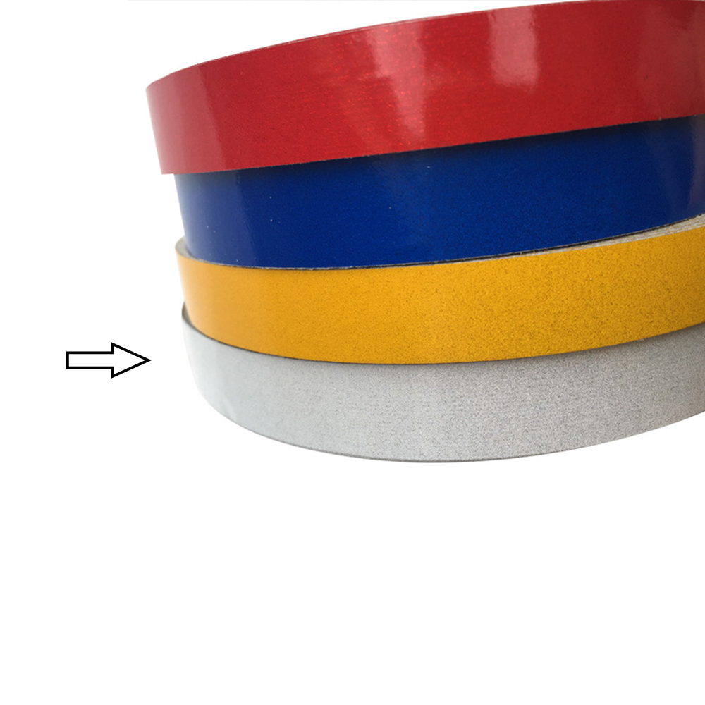1cm*5m Night Magic Reflective Tape Automotive Body Motorcycle Bicycle Decoration Car Sticker Exterior Car-Styling