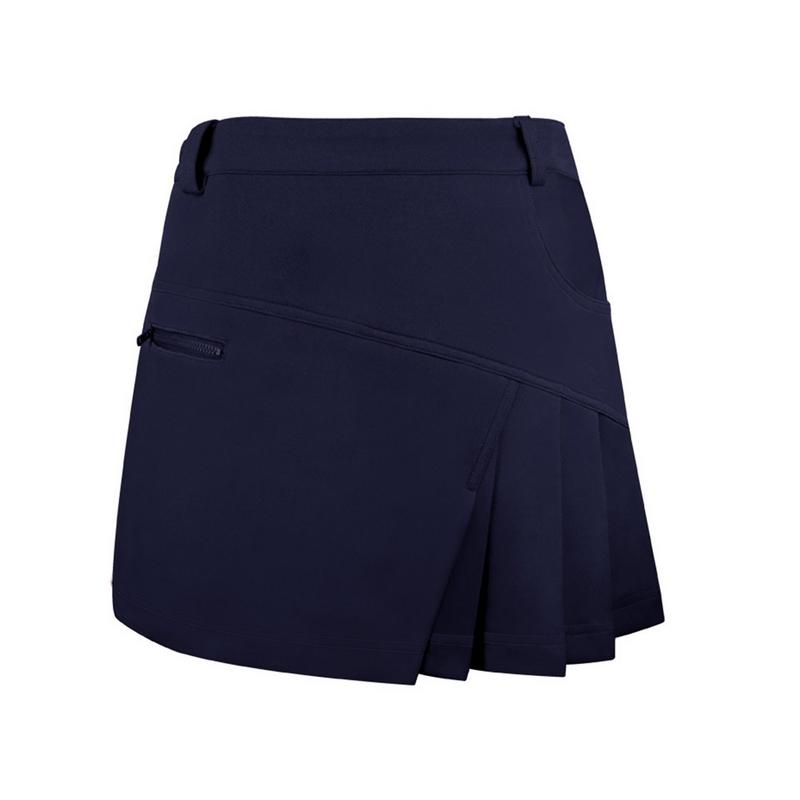 New Women's Golf Divided Skirt For Badminton Tennis Women Sport Anti Exposure Tennis Skirt