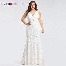 מחוך תחרת בת ים חתונת שמלות 2020 Ever די עיצוב פשוט אלגנטי חתונת שמלות הכלה שמלת בודהה robe de mariee