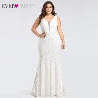 Corset Lace Mermaid Wedding Dresses 2019 Ever Pretty Design Simple Elegant Wedding Gowns for Bride Dress Boda robe de mariee