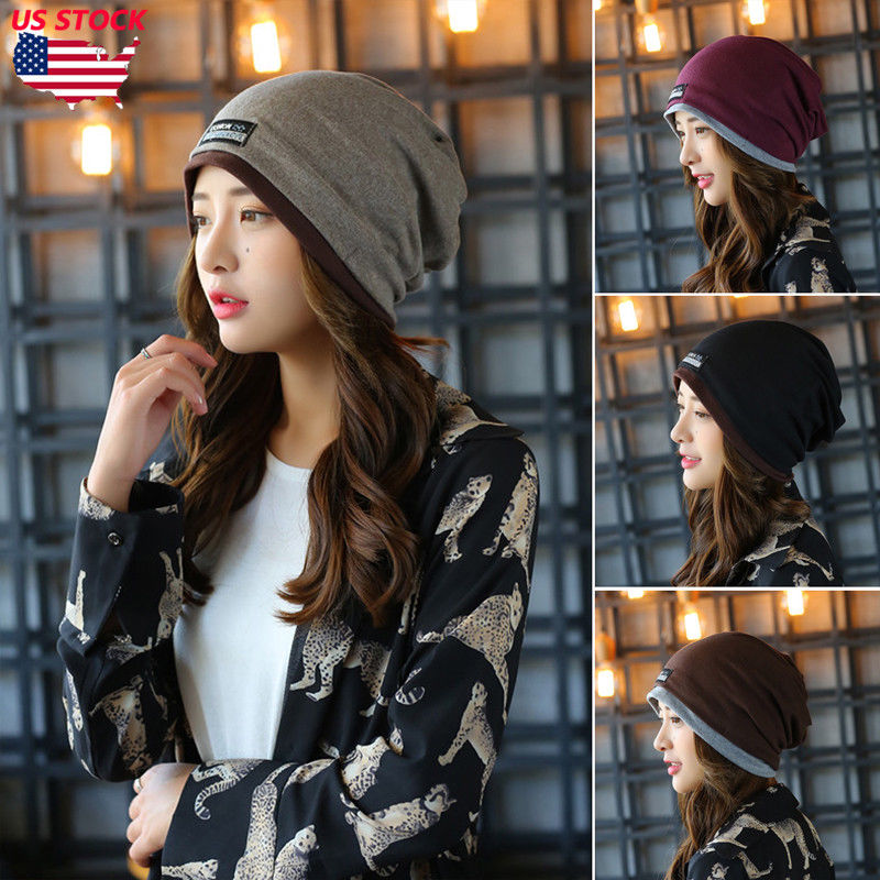 Women Ladies Beanie Casual Wool 2019 Brand New Autumn Winter High Quality Solid Knitted Women's Hat Female Caps